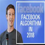 facebook algorithm 2018